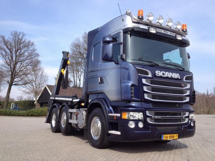 Scania r500 voor oostdam metaalrecycling bv for Edha interieur b v