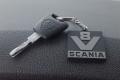 V8 Scania Oldskool sleutelhanger