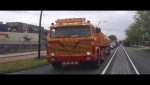 Scania V8 op de Scania Grifin Rally 2015 in Uithoorn