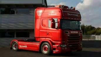 Scania R580 voor Pascal Verbeek
