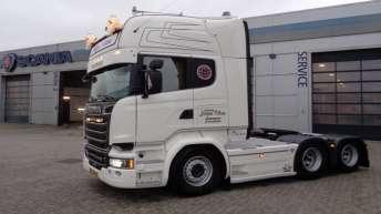 Scania R580 voor Jesper Olsen (DK)