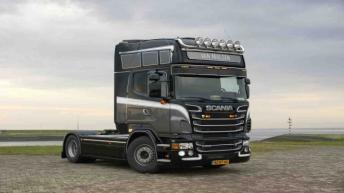 Scania R500 voor H. van Malsen