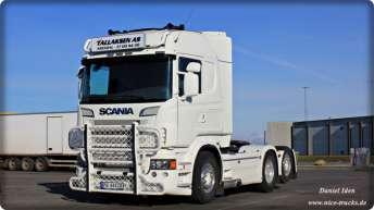Scania R730 voor Tallaksen AS uit Noorwegen