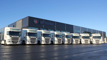 8x Scania R580 voor Nortemp Transport A/S