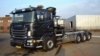 Scania R500 voor A. Struijk Scherpenzeel