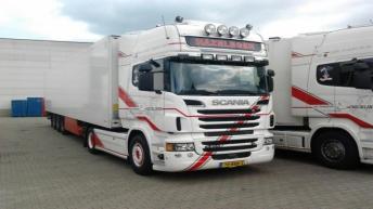 Scania R500 voor Hazeleger