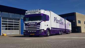 Scania S580 voor Plantline