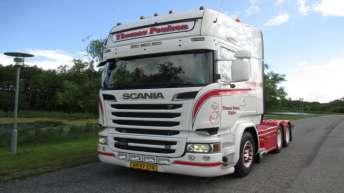 Scania R520 voor Thomas Poulsen (DK)