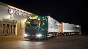 Scania S580 voor Knutab Entreprenad (ZW)