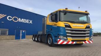 Scania R580 voor Combex