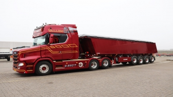 Scania S650T Vallem Maskintransport