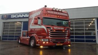 Scania R520 voor Tijs de Koning