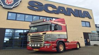 Scania V8 R580 - Faasse Transport - Aagtekerke