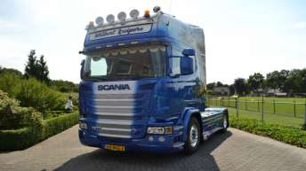Scania R580 voor Wilbert Kuipers