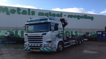 Scania R520 voor Lion Metals