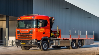 Scania S520XT voor Leendertse Bronbemaling