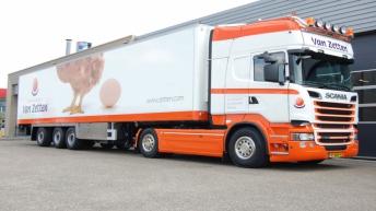 Scania R520 voor Van Zetten
