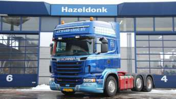 Scania R500 voor Richard Long BV