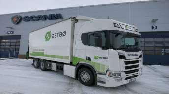 Scania R520 voor Østbø As (NO)
