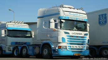 Scania R500 voor Freight Line