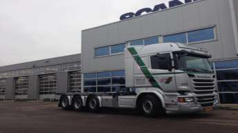 Scania R520 motorwagen voor Hebra/GTO