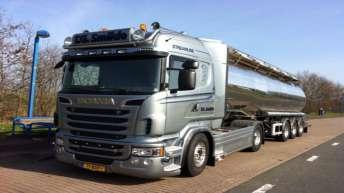 Scania R520 voor T.G. Smilde