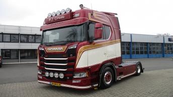 Scania S650 voor P.J.Crum Opheusden