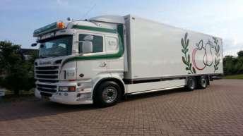 Scania R500 voor P.J. Van Haaften en Zonen