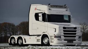 Scania S580 T gebouwd door Vlastuin Truckopbouw