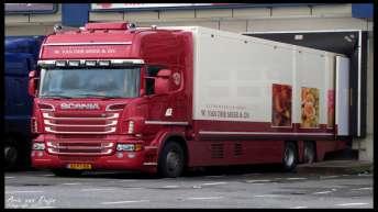 Scania R500 voor W. van der Meer & Zn.