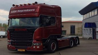 Scania R520 voor Leon Hoogendoorn