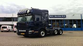 Gebruikte Scania 164 580 voor J.A. de Leeuw