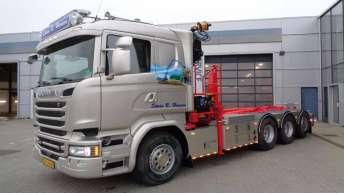 Scania R580 voor Søren B. Hansen (DK)