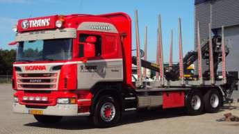 Scania R560 voor S-Trans