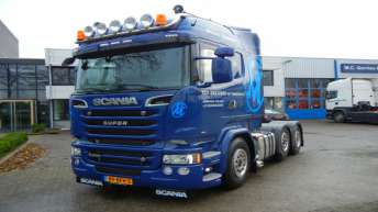 Scania R520 voor Van Meeteren Transport