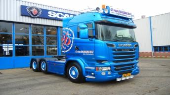 Scania R520 voor G. van Doesburg