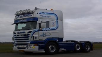 Scania R500 voor L.A. v/d Heuvel