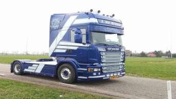 Scania R580 voor J. de Bruyn