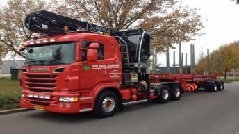 Scania R560 voor Ten Bulte Rondhout