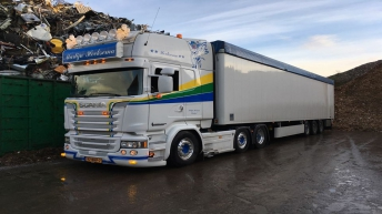Scania R580 Crown Edition voor Martijn Hoeksema
