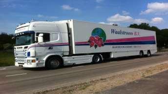 Scania R500 voor Waalstroom B.v.