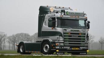 Scania 164 580 voor Van Triest Veevoeders