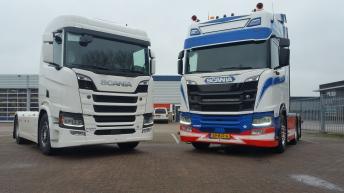 Scania R nextgen trekkers voor Patrick v.d. Hoeven