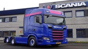 Scania S520 voor Van der Kaaden Transport bv