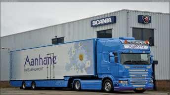 Scania R500 voor Aanhane Bloemenexport