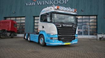 Scania V8 R520 - Kuijt Transport - Barneveld