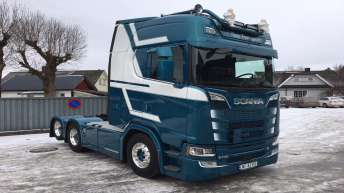 Scania S730 voor Tipp Transport (NO)