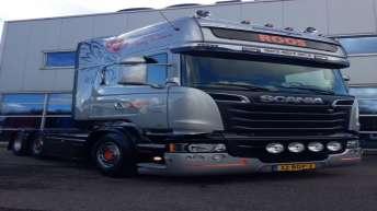 Scania R520 voor Roos Transporten