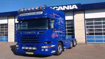 Scania R520 voor G. van Beek Transport