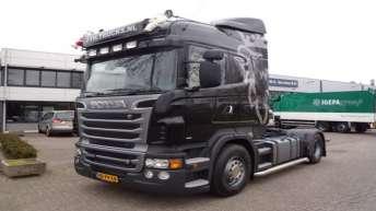 Scania R500 voor F.T.H. uit Vuren